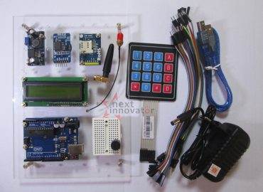 project proyek bermanfaat timer alarm alat pengingat minum obat arduino dengan modul gsm sim800l rtc ds3231 keypad 4x4