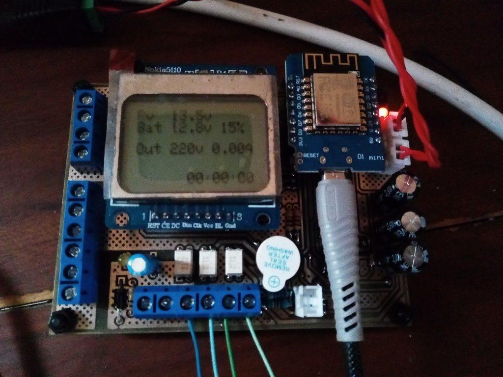 jasa pembuatan iot ats panel surya / solar cell